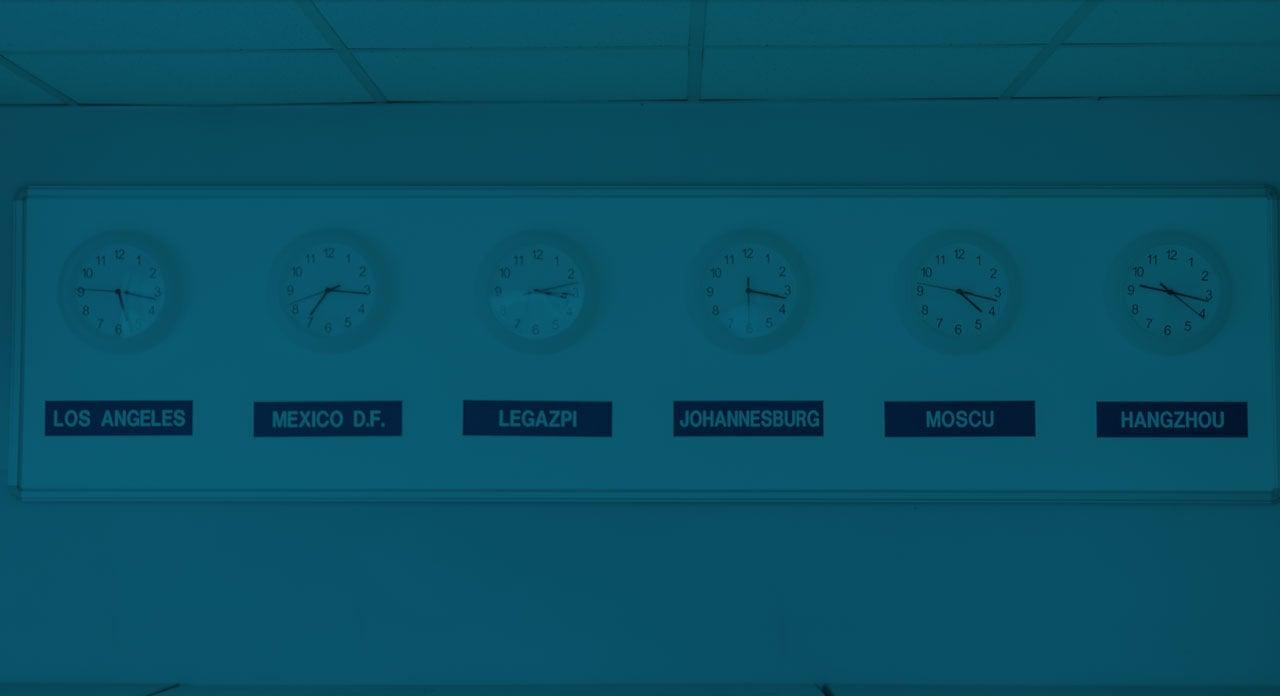 WORLDWIDE CLOCKS